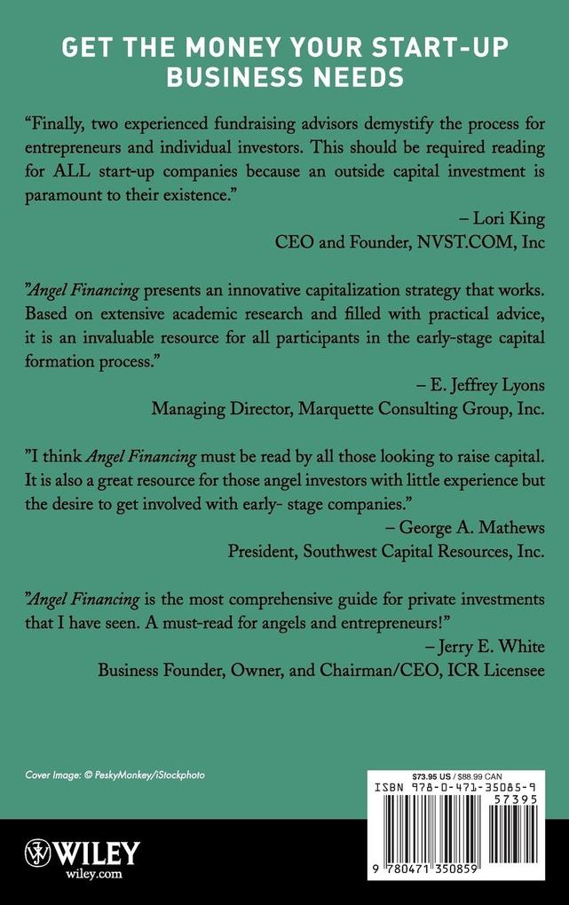 Angel Financing: How to Find and Invest in Private Equity als Buch