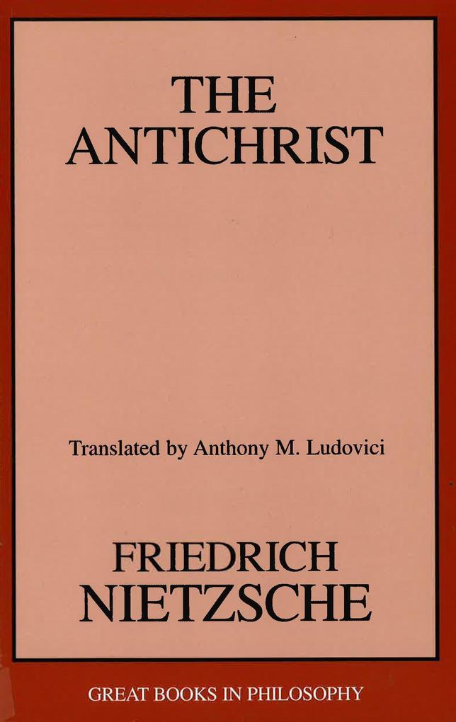 The Antichrist als Taschenbuch