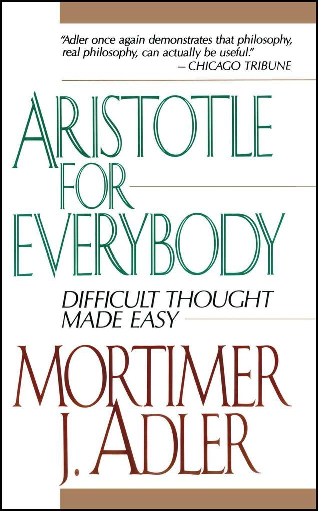 Aristotle for Everybody als Taschenbuch