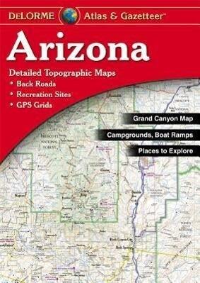 Delorme Arizona Atlas & Gazetteer als Taschenbuch