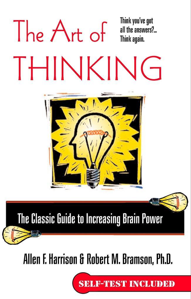 The Art of Thinking als Taschenbuch