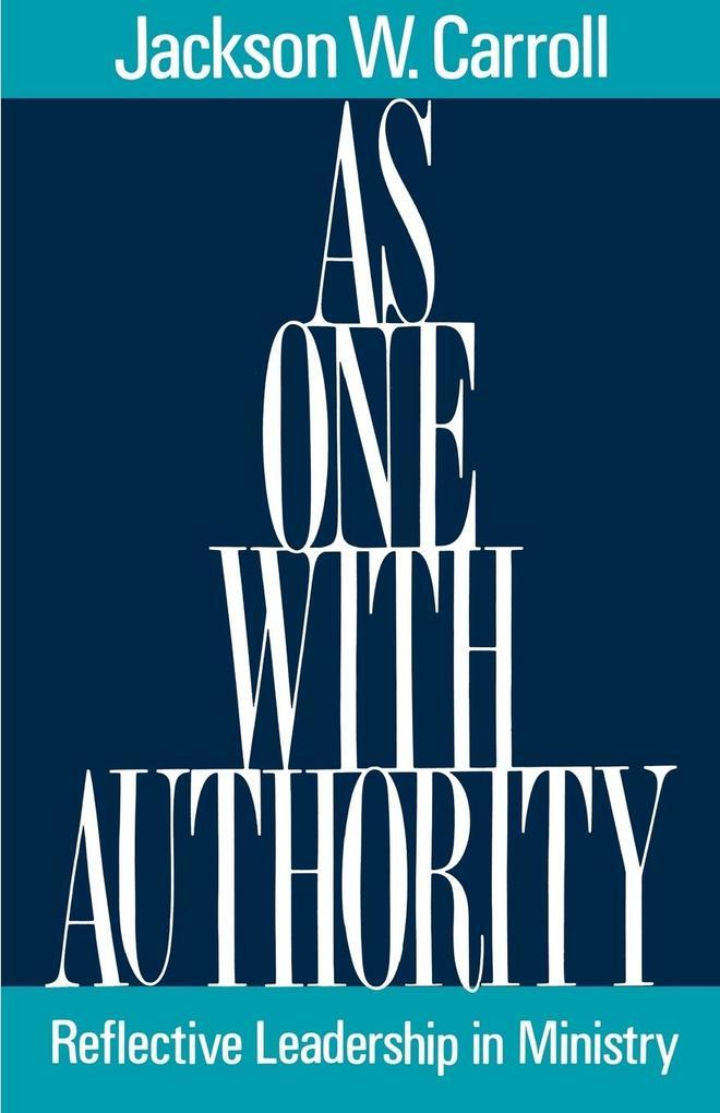 As One with Authority als Taschenbuch