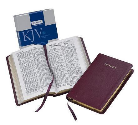 Large Print Text Bible-KJV als Buch