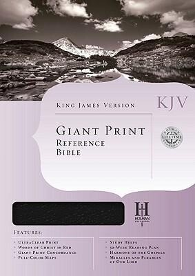 Giant Print Reference Bible-KJV als Buch
