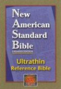 Ultrathin Reference Bible-NASB als Buch