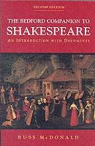 The Bedford Companion to Shakespeare als Buch