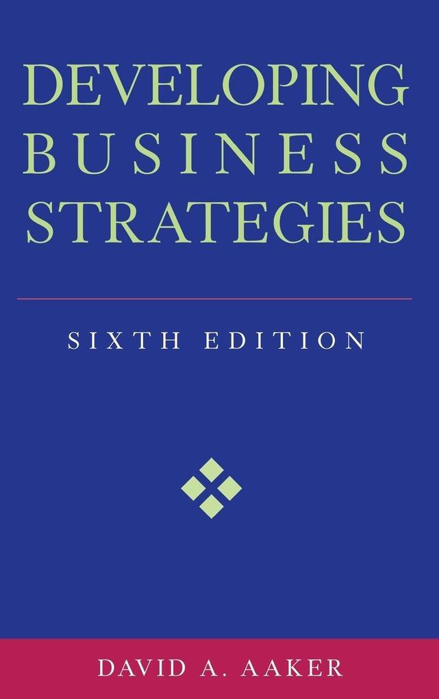Developing Business Strategies als Buch