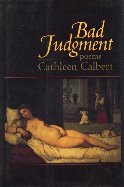 Bad Judgment: Poems als Taschenbuch