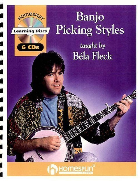 Banjo Picking Styles [With Book with Tab.] als Hörbuch