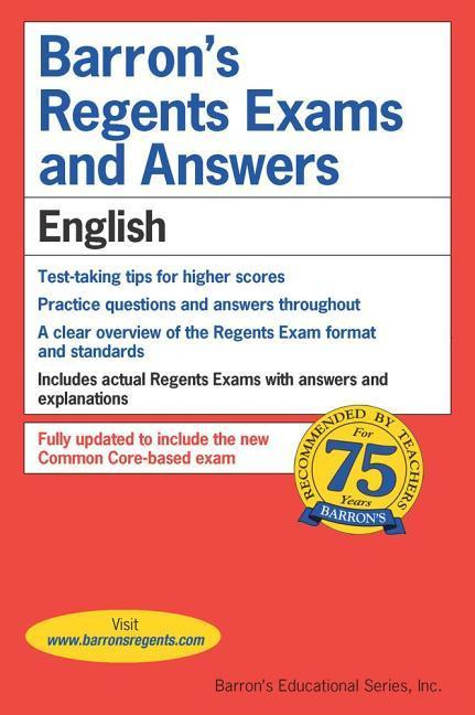 Regents Exams and Answers: English als Taschenbuch