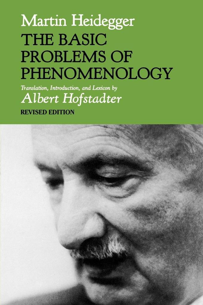 The Basic Problems of Phenomenology, Revised Edition als Buch
