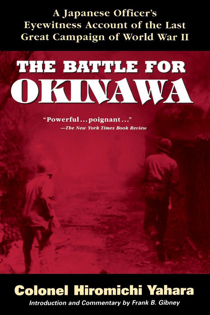 The Battle for Okinawa als Taschenbuch