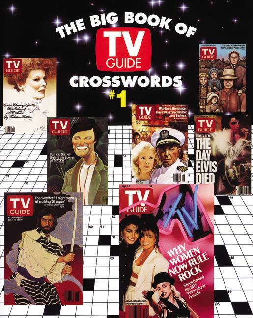 The Big Book of TV Guide Crosswords, #1: Test Your TV IQ with More Than 250 Great Puzzles from TV Guide! als Taschenbuch