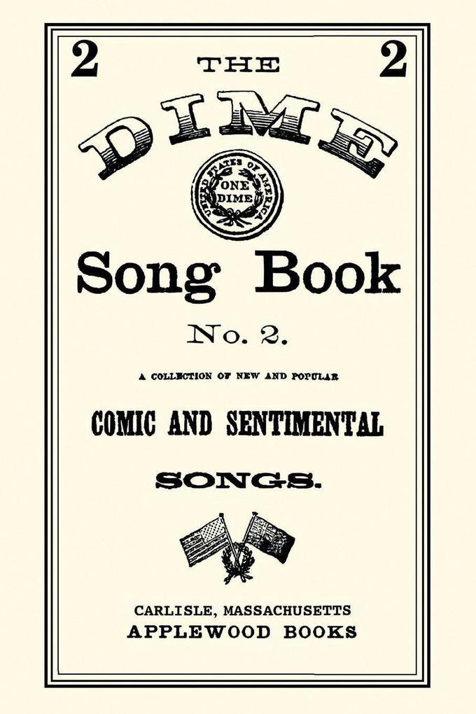 Dime Song Book #2 als Taschenbuch