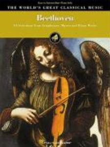 Beethoven - Easy to Intermediate Piano Solo: 53 Selections from Symphonies, Masses and Piano Works als Taschenbuch