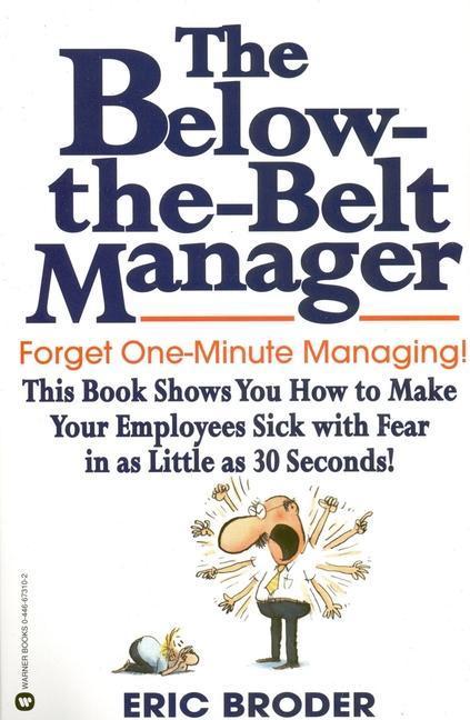 The Below-The-Belt Manager als Taschenbuch