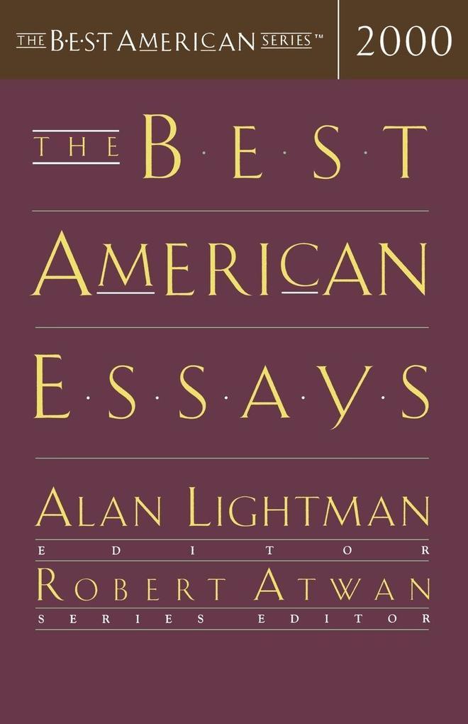 The Best American Essays 2000 als Taschenbuch