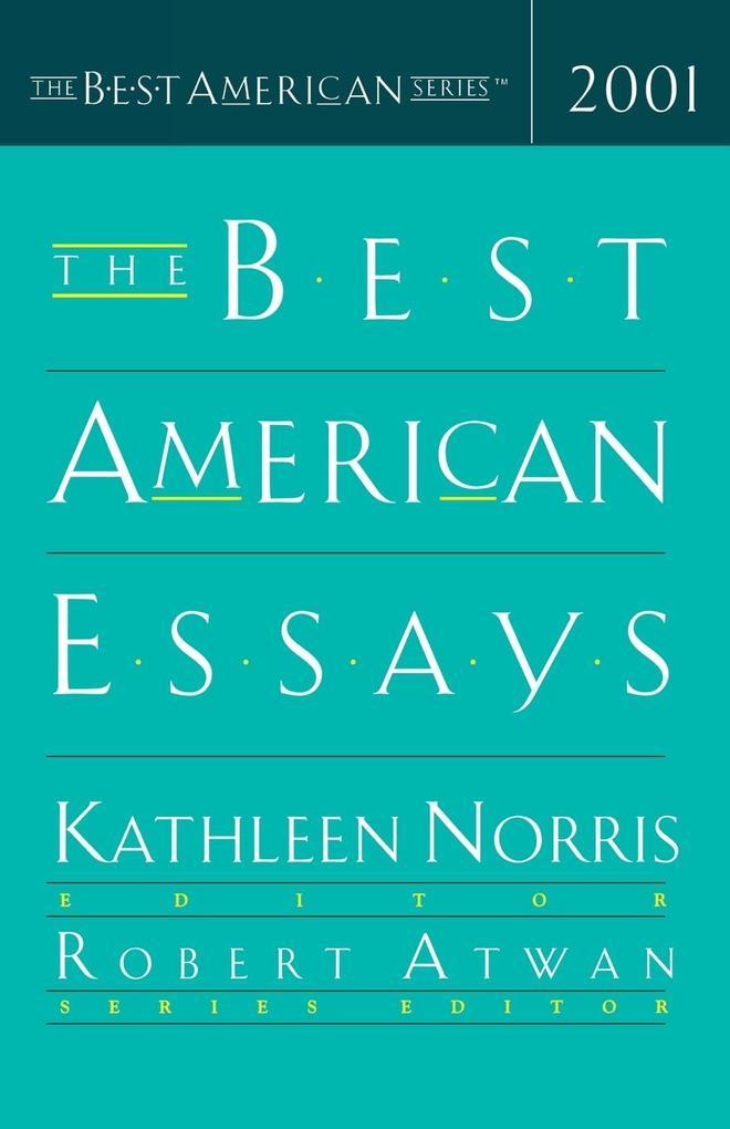 The Best American Essays als Taschenbuch
