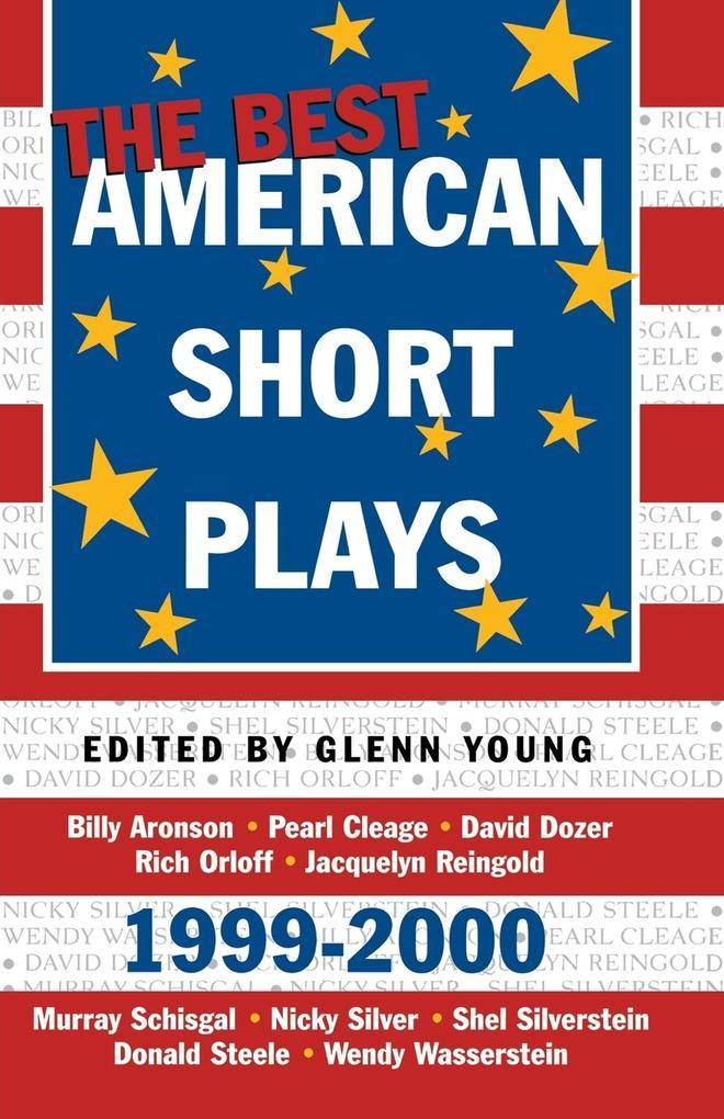 The Best American Short Plays 1999-2000 als Taschenbuch