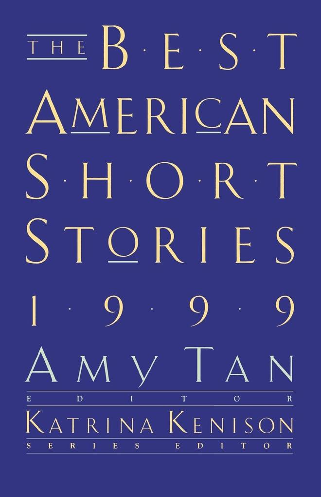 The Best American Short Stories als Taschenbuch