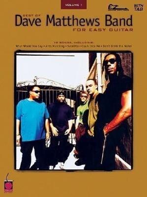Best of Dave Matthews Band for Easy Guitar als Taschenbuch