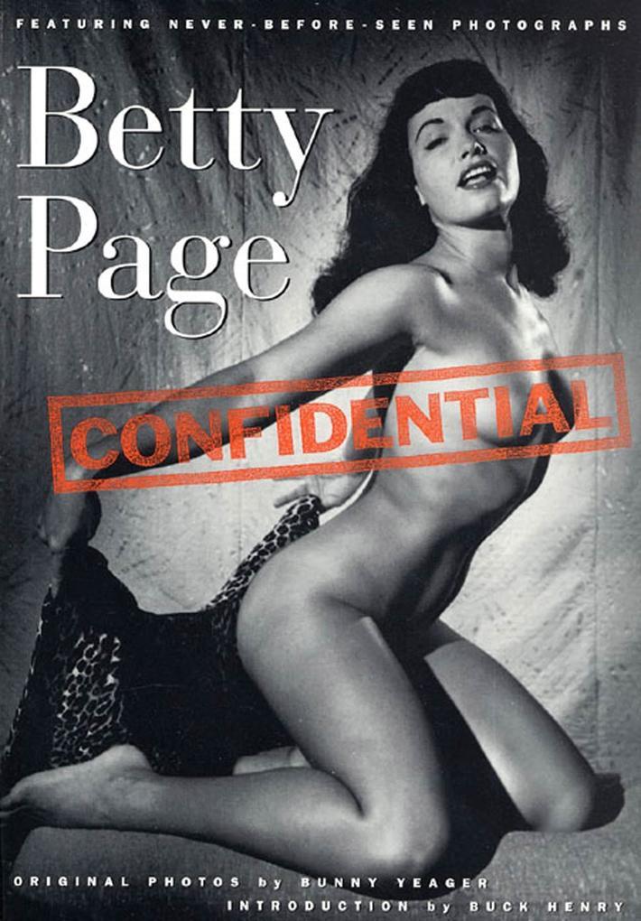 Betty Page Confidential als Taschenbuch