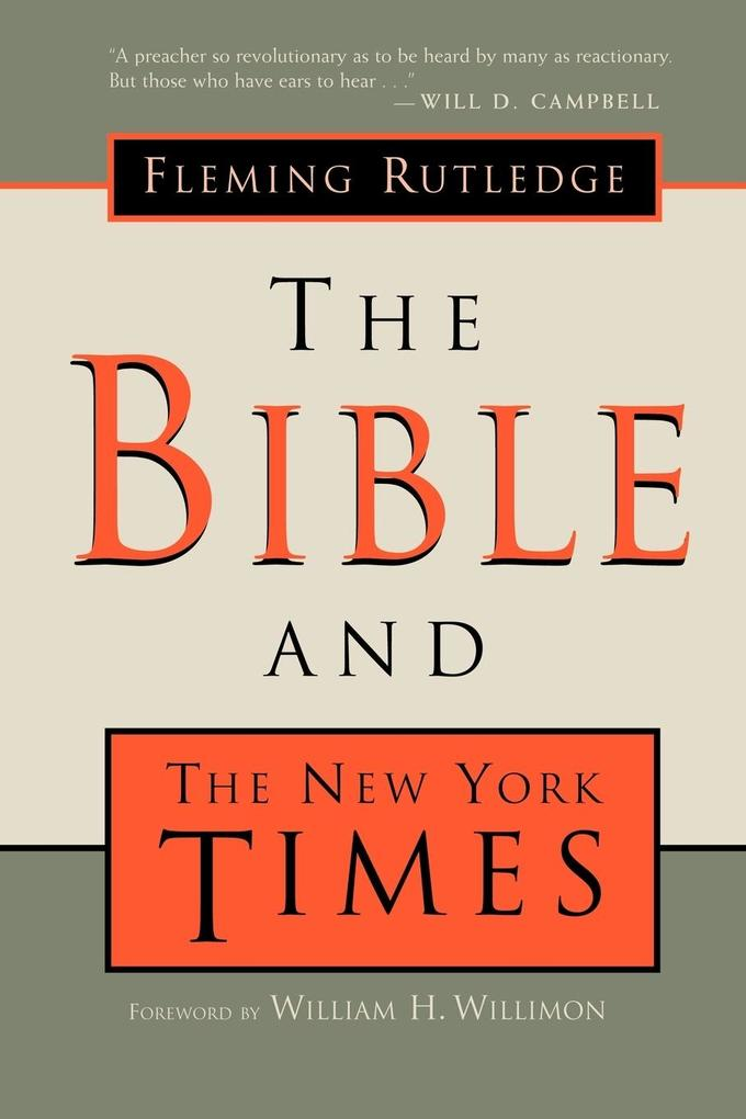The Bible and the New York Times als Taschenbuch