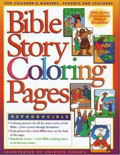 Bible Story Coloring Pages als Taschenbuch