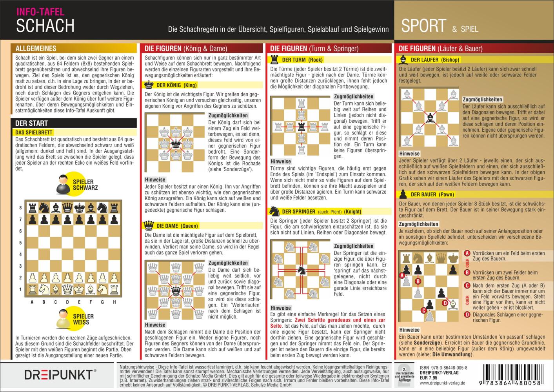 Regeln Schach