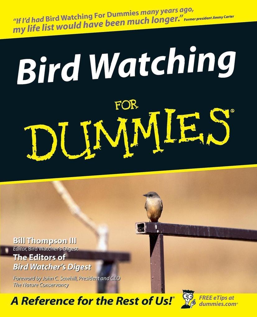Bird Watching for Dummies als Taschenbuch