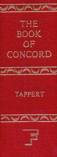 The Book of Concord als Buch