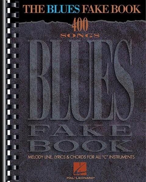 The Blues Fake Book als Taschenbuch