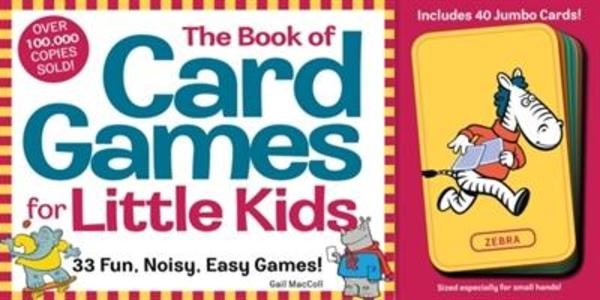 The Book of Card Games for Little Kids [With 40 Jumbo Animal Cards] als Taschenbuch