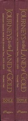 Journeys to the Land of Gold: Emigrant Diaries from the Bozeman Trail, 1863-1866 als Taschenbuch