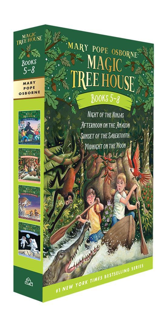 The Magic Tree House Books 05-08 als Taschenbuch