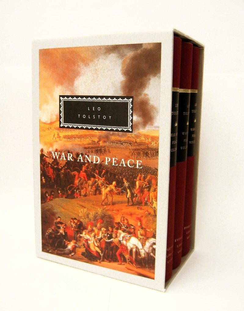 War and Peace: 3-Volume Boxed Set als Taschenbuch
