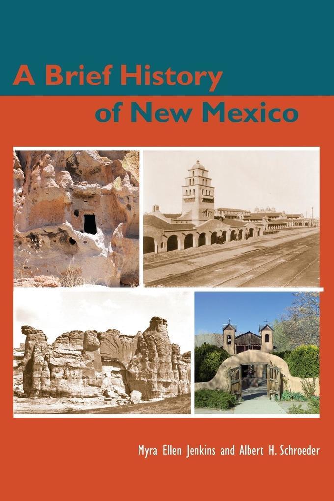 A Brief History of New Mexico als Taschenbuch
