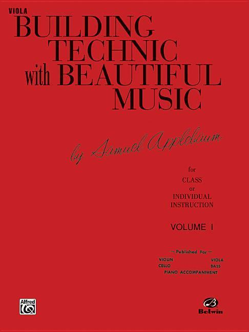 Building Technic with Beautiful Music, Bk 1: Viola als Taschenbuch