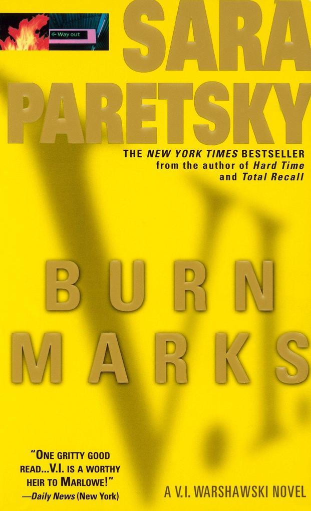 Burn Marks als Taschenbuch
