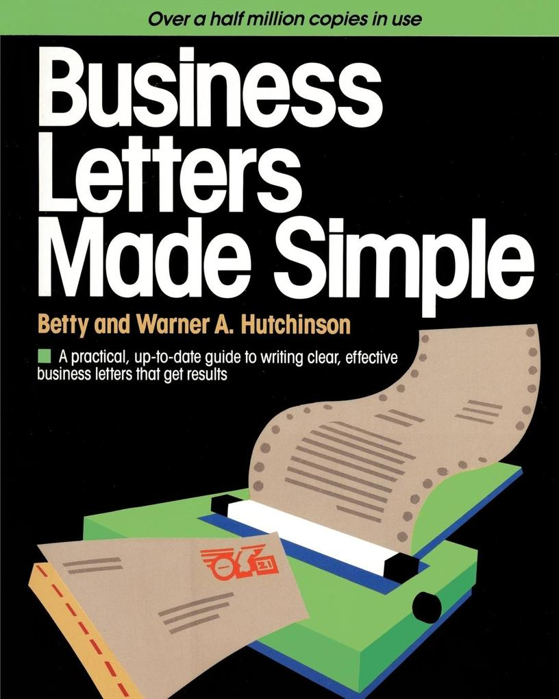Business Letters Made Simple als Taschenbuch
