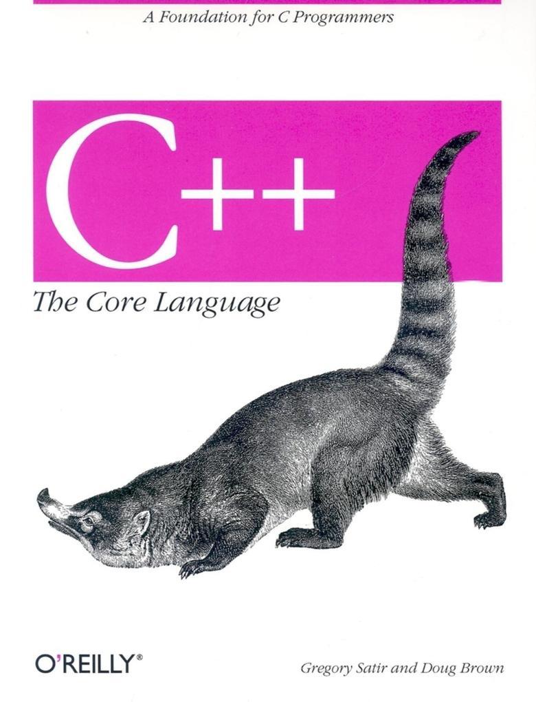 C++ the Core Language als Taschenbuch