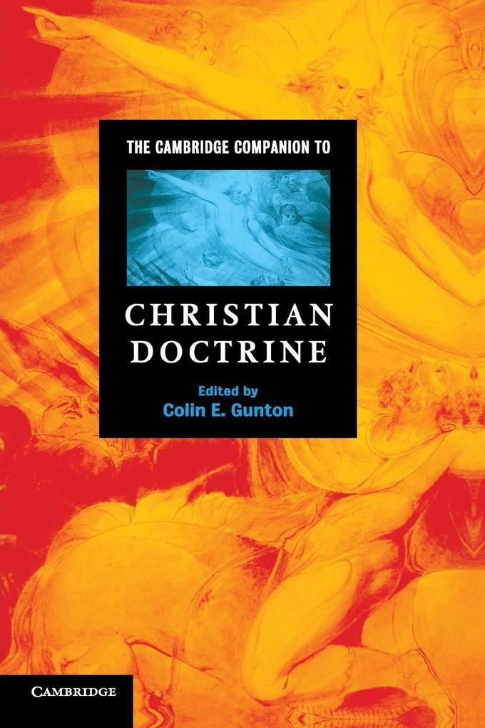 The Cambridge Companion to Christian Doctrine als Buch