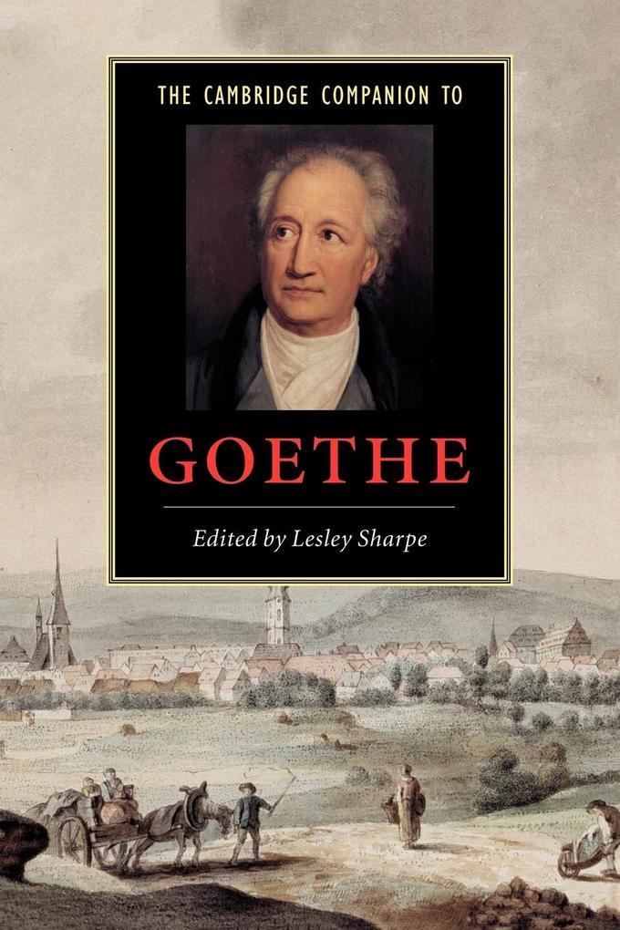 The Cambridge Companion to Goethe als Buch