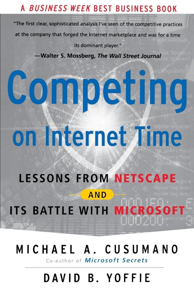 Competing on Internet Time als Buch