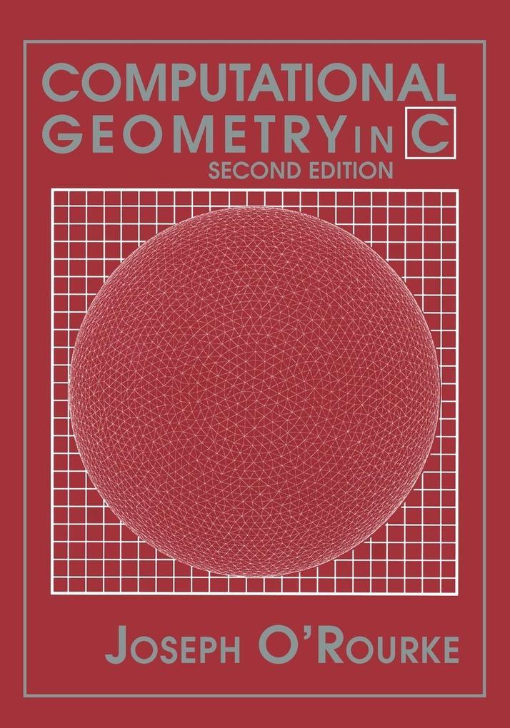 Computational Geometry in C als Buch