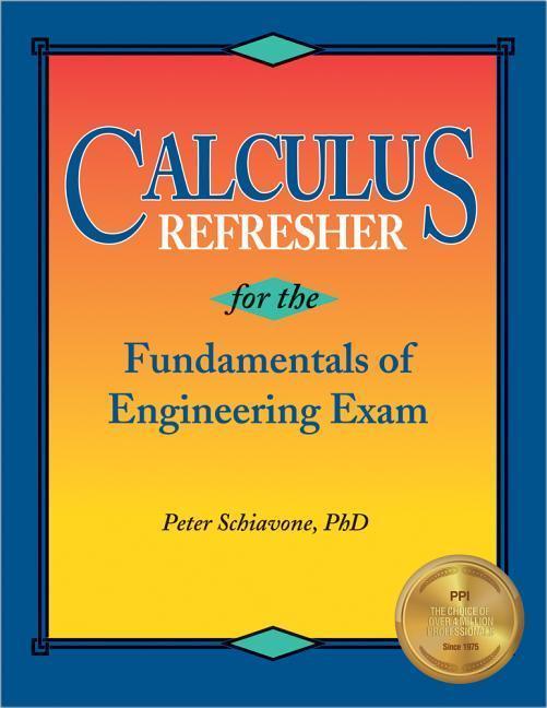 Calculus Refresher for the Fe Exam als Taschenbuch