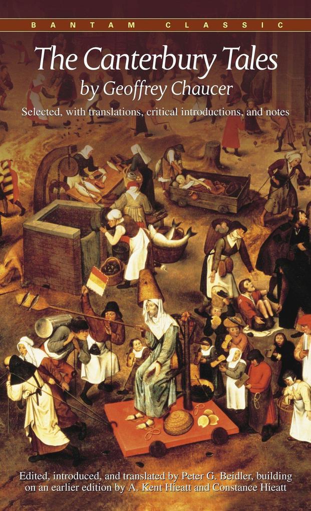 The Canterbury Tales als Taschenbuch