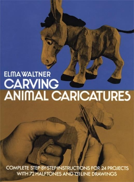 Carving Animal Caricatures als Taschenbuch