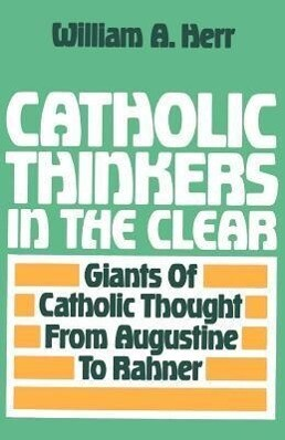 Catholic Thinkers in the Clear als Taschenbuch