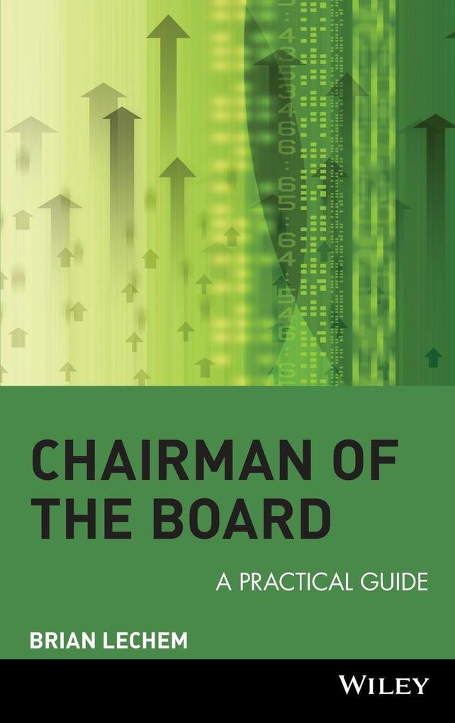 Chairman of the Board: A Practical Guide als Buch